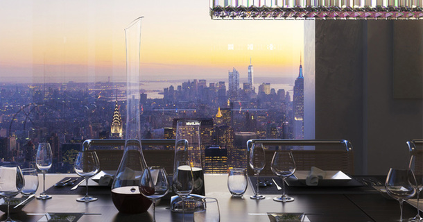 Here's What Living In A $95-Million Penthouse Looks Like